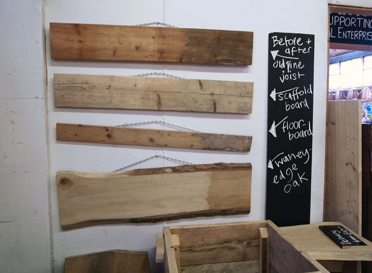 Buy reclaimed wood - Community Wood Recycling